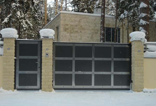 Откатные ворота производство в Жуковском